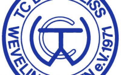 Logo TC Blau-Weiß Wevelinghoven e.V. 1971